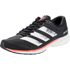 adidas Adizero Adios 5 Shoes Men core black/footwear white/signal coral